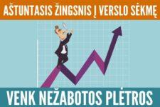 Aštuntasis žingsnis į verslo sėkmę: venk nežabotos plėtros