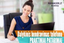 Dalykinis bendravimas telefonu - praktiniai patarimai
