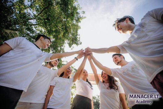 Efektyvi komunikacija ir komandos sutelktumas