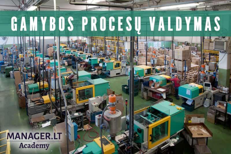 Efektyvus gamybinių procesų valdymas - Manager.LT Akademija