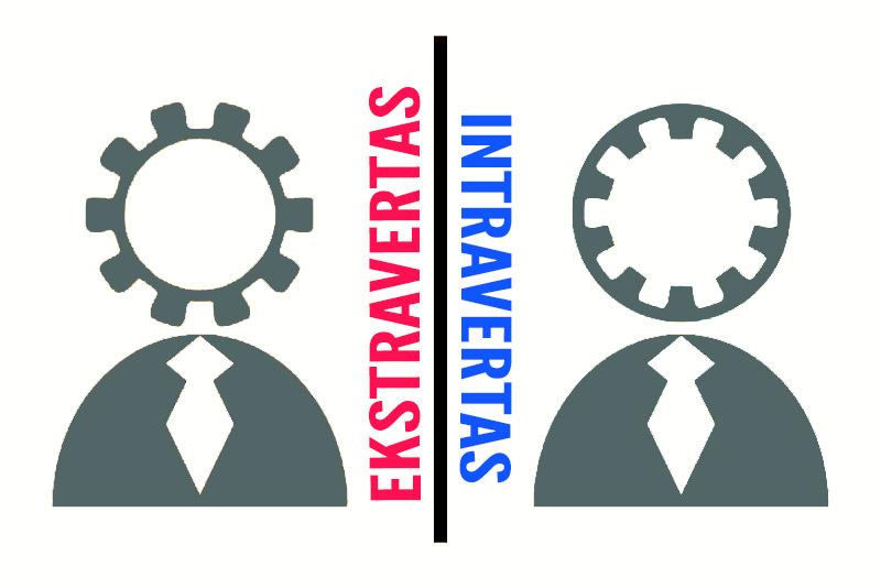 Ekstravertų ir intravertų skirtumai