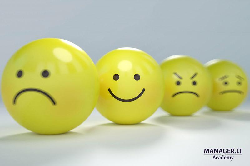 Emocijos ir jų svarba organizacijoje