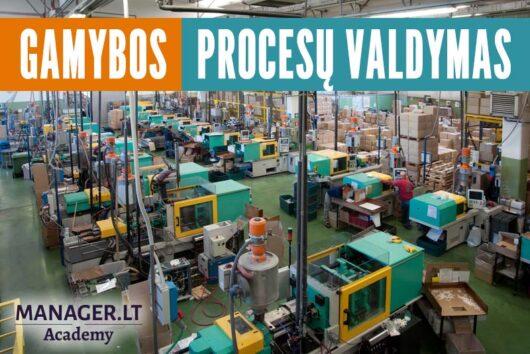 Gamybos procesų efektyvus valdymas - Manager.LT Akademija