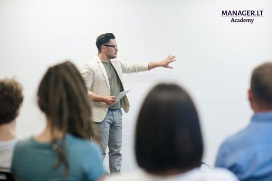 Garantuotos kokybės prezentacija - mokymai Manager.LT Akademija