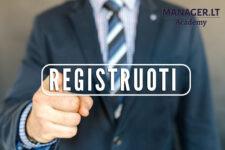 Kada reikia registruoti individualią veiklą