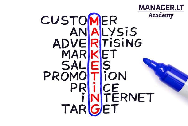 Marketingo projektų valdymas - Manager.LT Akademija