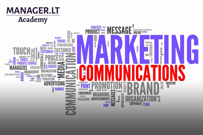 Marcom - marketing and communication - savo jėgomis