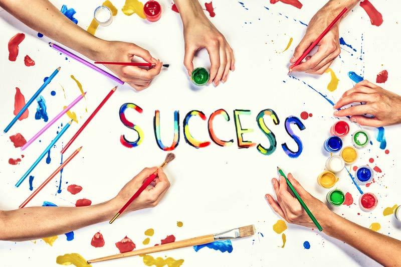 Organizacijos sėkmės simbolio tapymas - Manager.LT Akademija