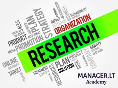 Organizacijų tyrimai - Manager.LT Akademija