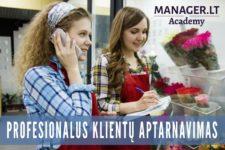 Profesionalus klientų aptarnavimas, Manager.LT Akademija mokymai