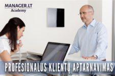 Profesionalaus klientų aptarnavimo mokymai