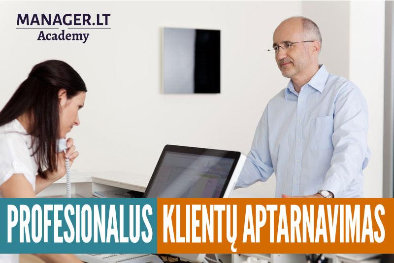Profesionalaus klientų aptarnavimo principai - mokymai kursai