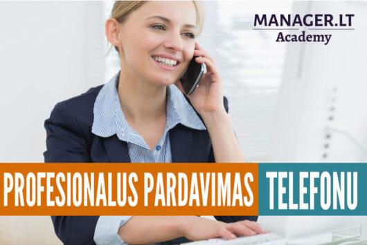 Profesionalus pardavimas telefonu - 2 d. mokymai pardavimo darbuotojams kursai