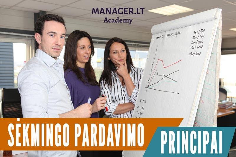 Sėkmingo pardavimo principai - pardavimų mokymai pradedantiems - netutintiems patirties