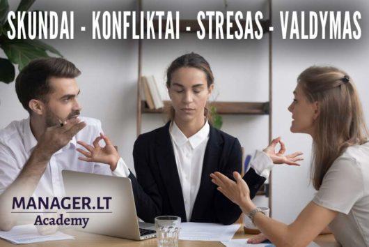 Skundai, konfliktai, stresas, valdymas - Manager.LT Akademija