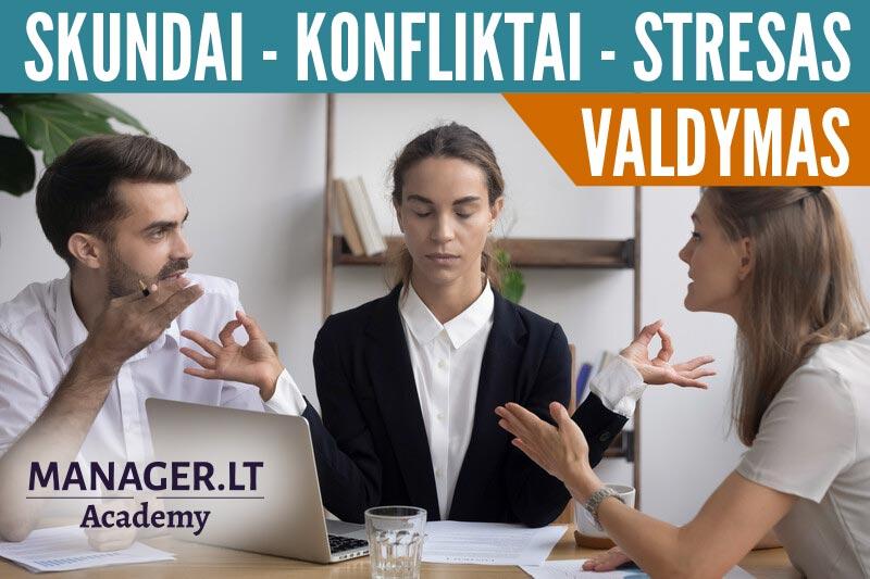 Skundų, konfliktų, streso ir kitų sudėtingų bendravimo situacijų valdymas