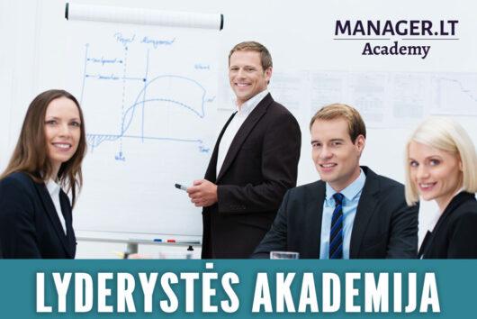 Vadovavimo ir lyderystės mokymai vadovams - Manager.LT lyderystės akademija
