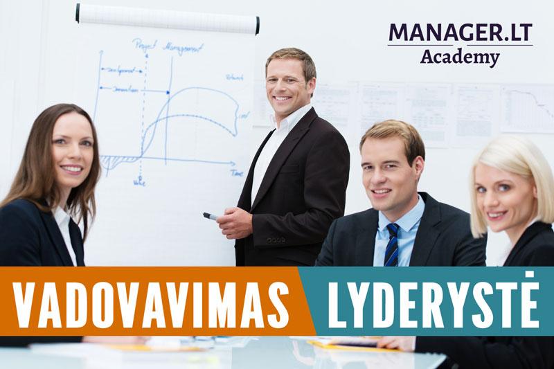 Vadovavimo ir lyderystės mokymai vadovams – Manager.LT lyderystės akademija