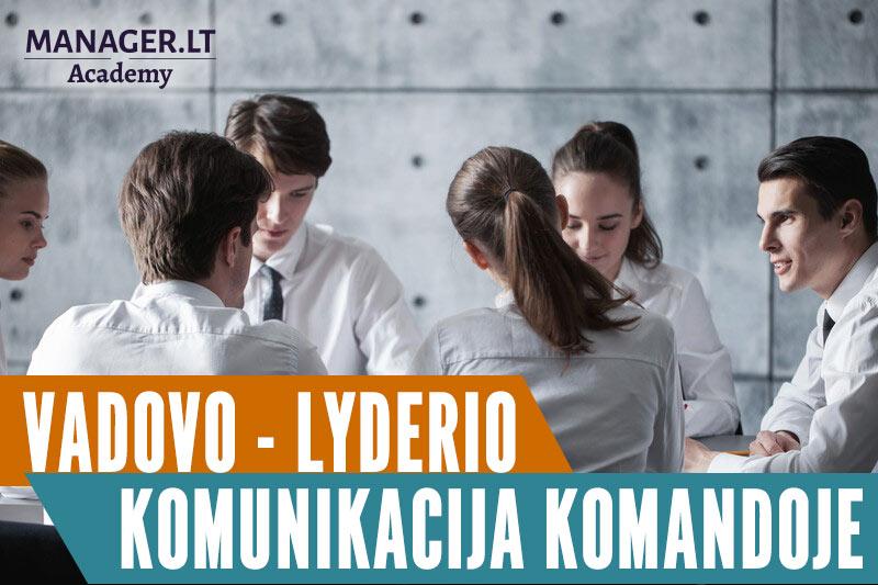 Vadovo - lyderio komunikacija komandoje mokymai kursai - vidinė komunikacija