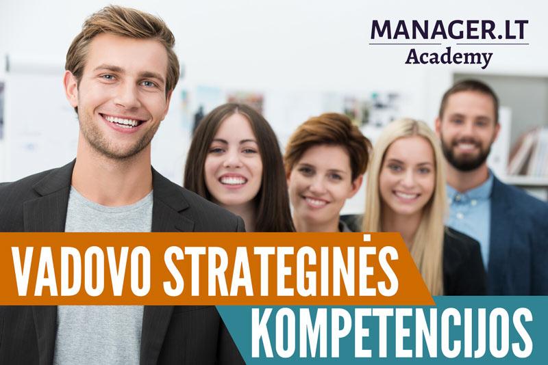 Vadovų strateginės kompetencijos - Manager.LT Akademija