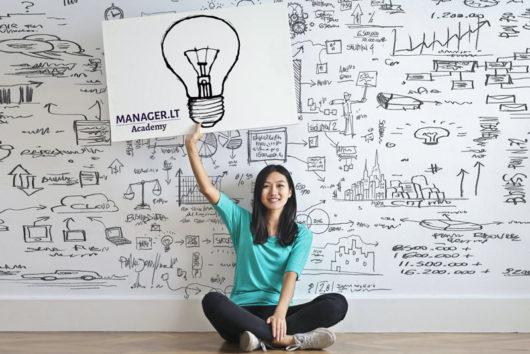Verslo pradžia nuo verslo idėjos - Manager.LT Akademija