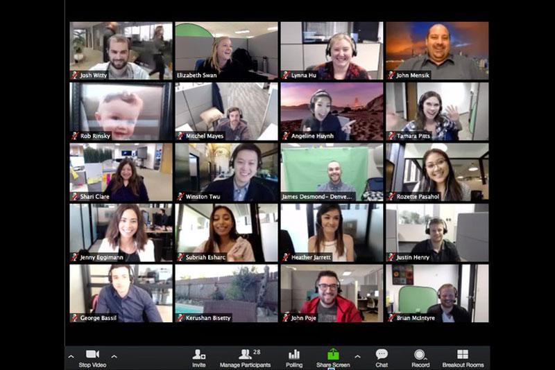 Video konferencijų paslauga Zoom
